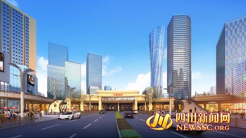 泸州 佳乐世纪城 四省新都会 城市群之心高清图片