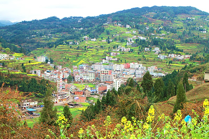 古蔺丹桂镇 风景这边看过来