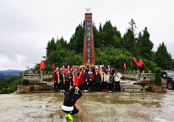 """贵州客人组团走进古蔺丹桂镇""""一日游"""""""